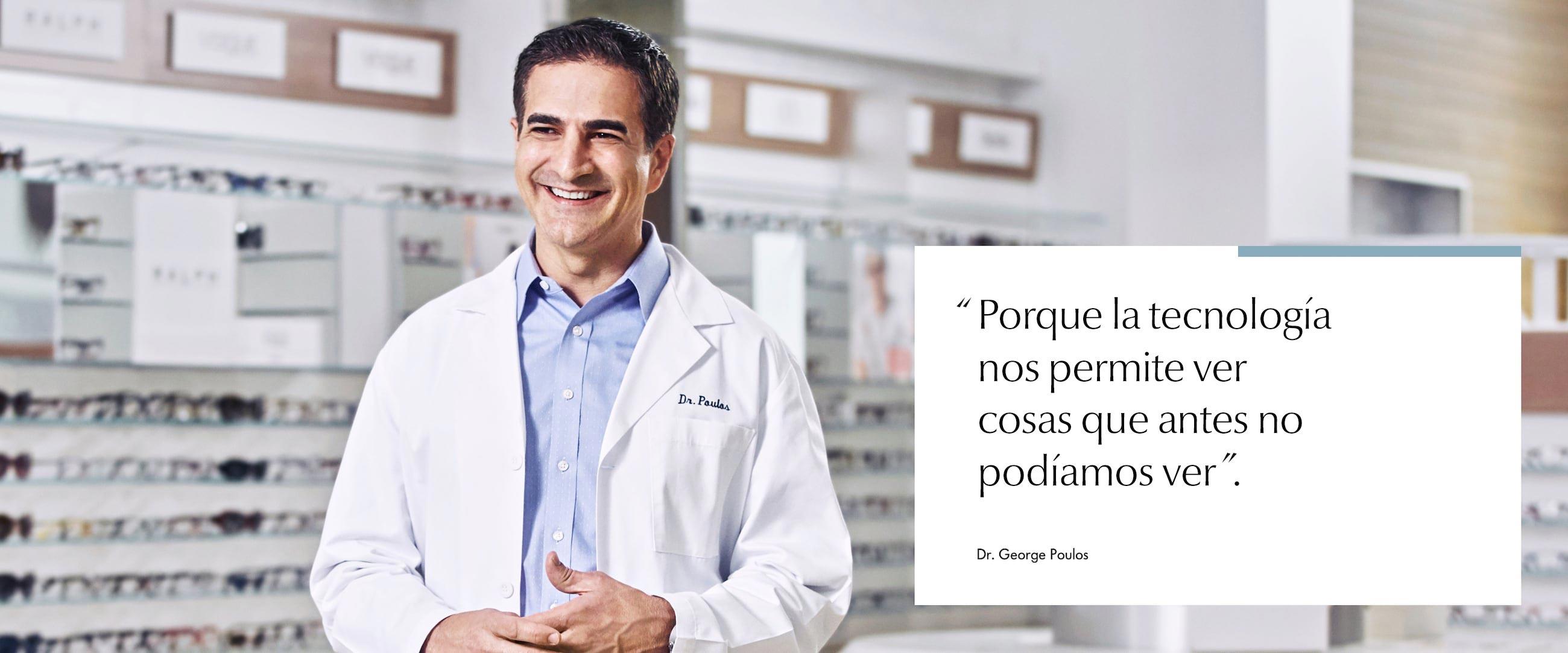 Imagen del doctor Poulos