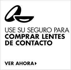 Use sus beneficios para comprar lentes de contacto.