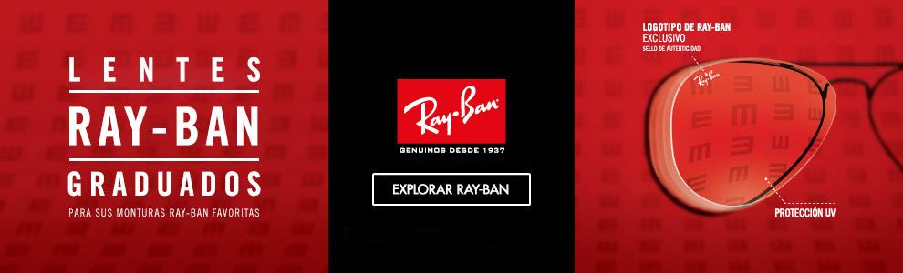 Lentes Ray-Ban graduados.